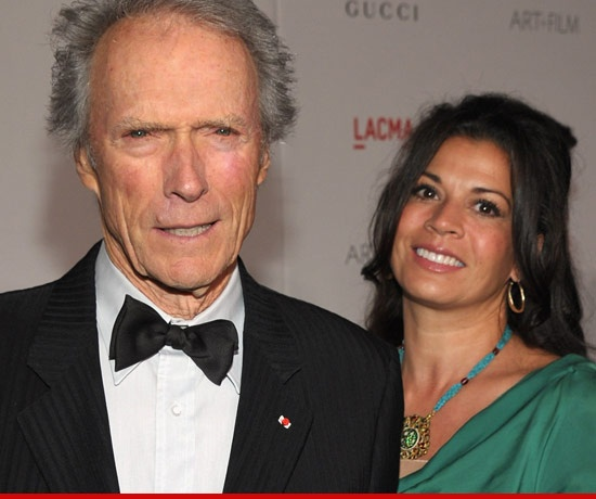 Clint Eastwood's Wife Dina Enters REHAB for Depression, Anxiety..April 2013