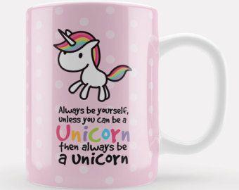 Unicorn Magic Mug Cute kawaii unicorn gift unicorn by LoveMugsUK