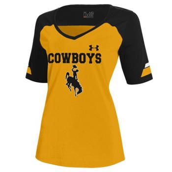 University of Wyoming Cowboys Under Armour Shirt #GoWyo