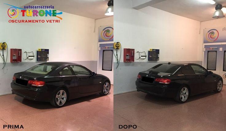 PELLICOLE OSCURANTI PER AUTO AGRIGENTO E PROVINCIA! OSCURAMENTO VETRI BMW SERIE 3 COUPE' Tonalità media nei vetri posteriori. http://www.turone.it
