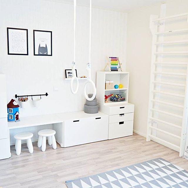 kidsroom leikkihuone dinoxsport dinox ikea stuva desenio anno asko dinox sport. Black Bedroom Furniture Sets. Home Design Ideas