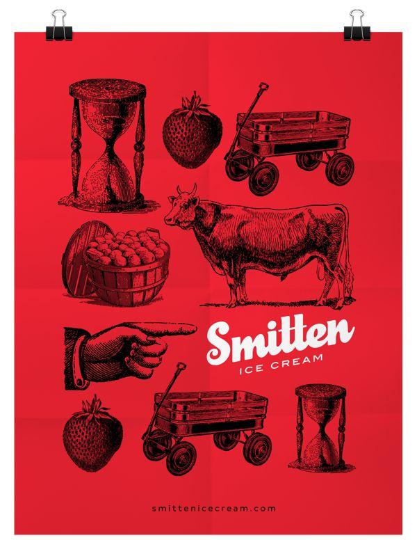 Smitten Ice Cream Logo 347 best logos images on pinterest | logo designing, logo branding