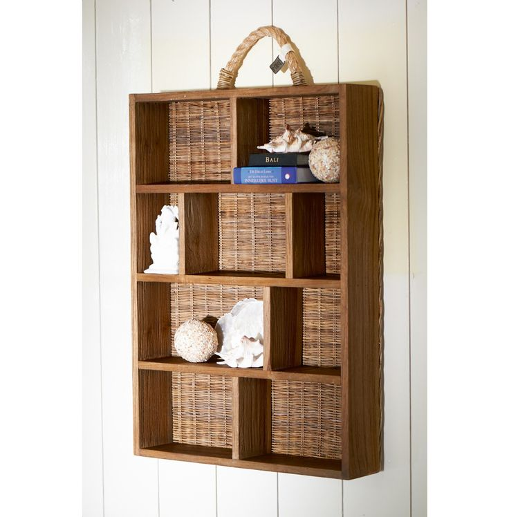 Rustic Rattan Shadow Box Collector € 149,95 #living #interior #rivieramaison