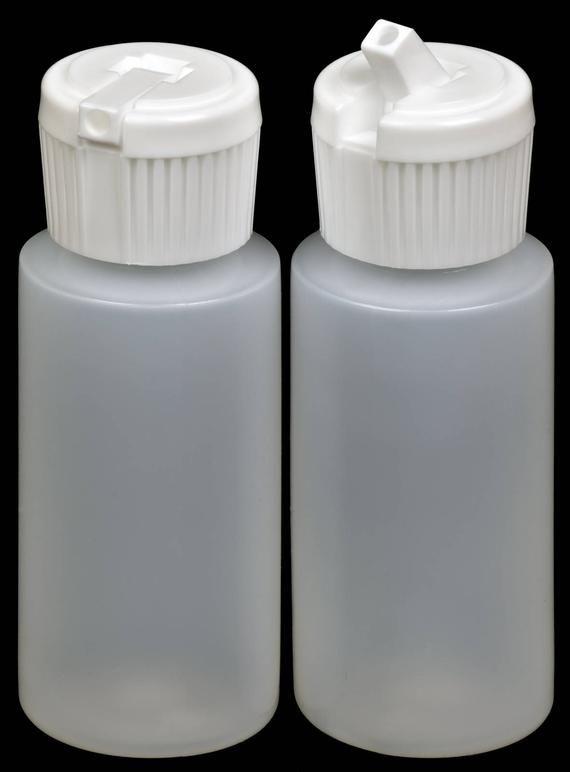 Plastic Bottle W White Turret Lid 1 Oz Hdpe 20 Pack New Etsy In 2020 Plastic Bottles Bottle Lidded