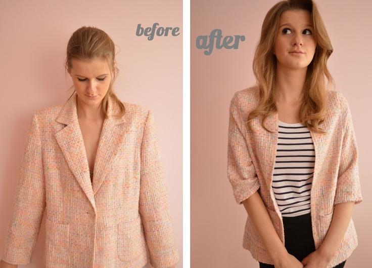remake a blazer