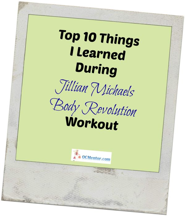 #Fitness 10 Things I Have Learned During Jillian Michaels Body Revolution