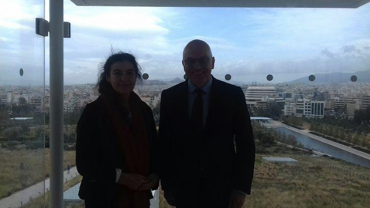 Επίσκεψη του Σέρβου Υπουργού Πολιτισμού και ΜΜΕ, Vladan Vukosavljevic, στην Αθήνα