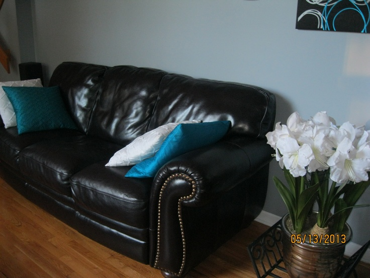 leather couch (two)