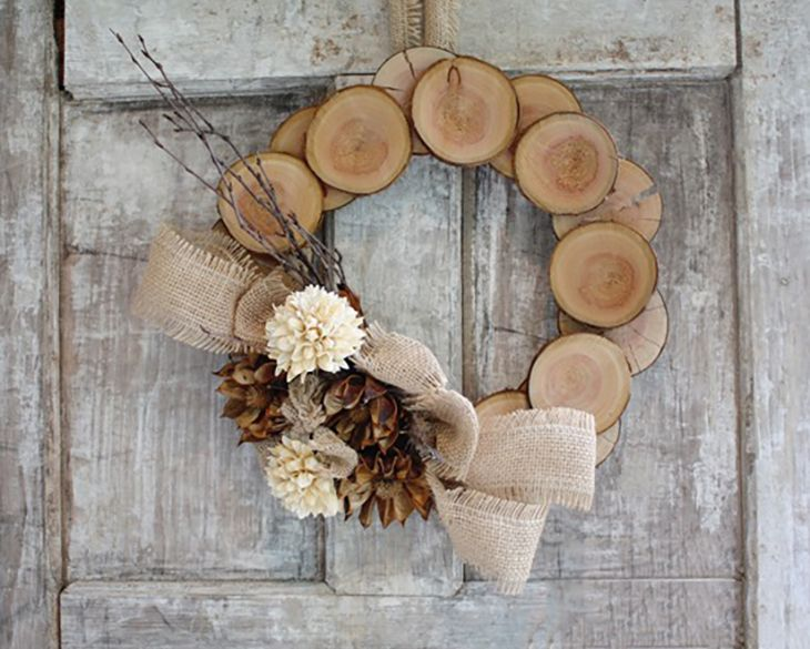 Who says holiday wreaths have to be made with greenery? These days anything is fair game, all you need are some styrofoam craft rings, your chosen decorations and a hot glue gun, the sky's the limit!