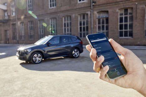 Подключенные Роскошные автомобили - Новый BMW Connected Feature соединит Автомобили с Alexa Amazon Эхо