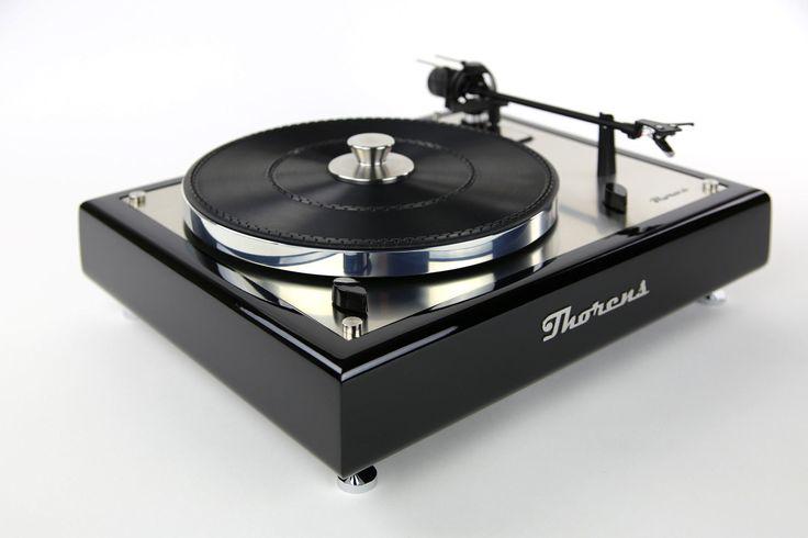Thorens TD 166 MKII Plattenspieler Turntable Designerstück in Hochglanz