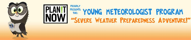 "Young Meteorologist Program -- click on ""Home"" for a meteorology related game"