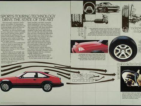 Second-generation Toyota Celica Supra gets more power and plusher  – toyota celica supra mk2