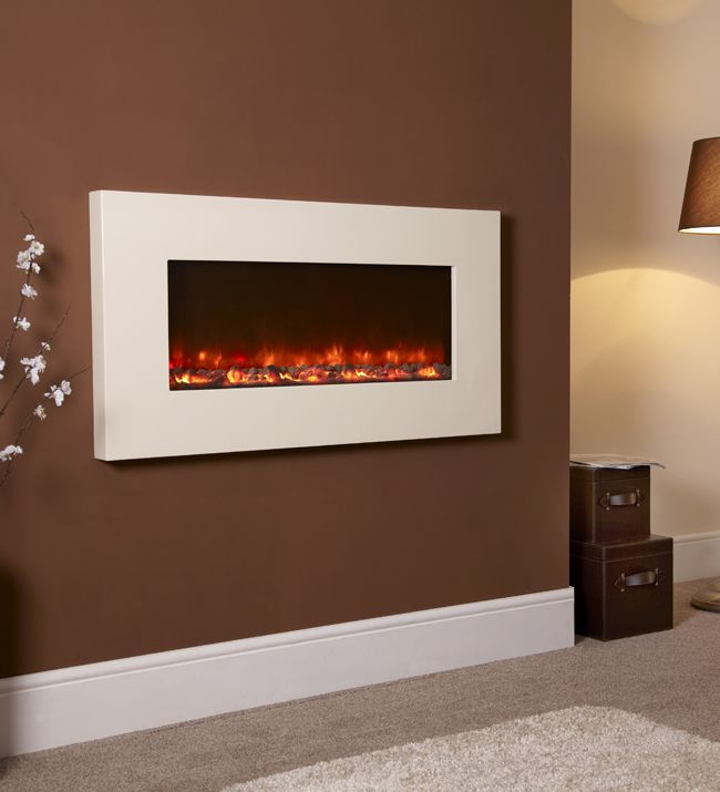 Lovely Wall Hanging Electric Fireplace with Heater