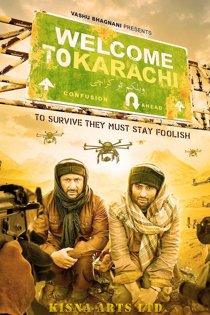 Welcome to Karachi (2015) FULL MOVIE. Click images to watch this movie