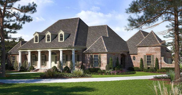 Best 25 acadian house plans ideas on pinterest square for Acadian house plans with bonus room