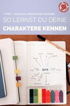7 Tipps – Schneller & produktiver schreiben #5 Charaktere – Denise Monroe