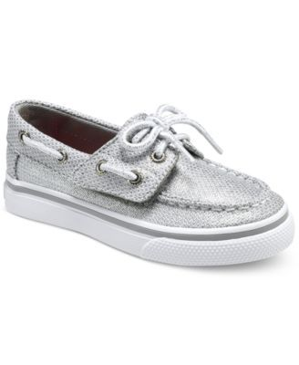 Sperry Little Girls' or Toddler Girls' Bahama Jr. Boat Shoes