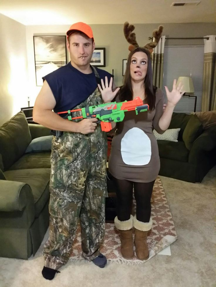 Homemade Deer Halloween Costume