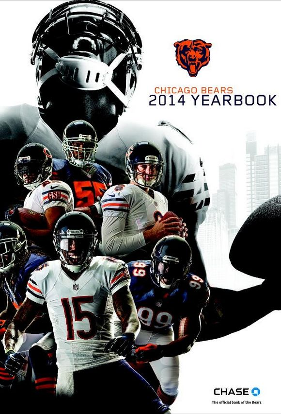 Chicago Bears 2014 NFL yearbook