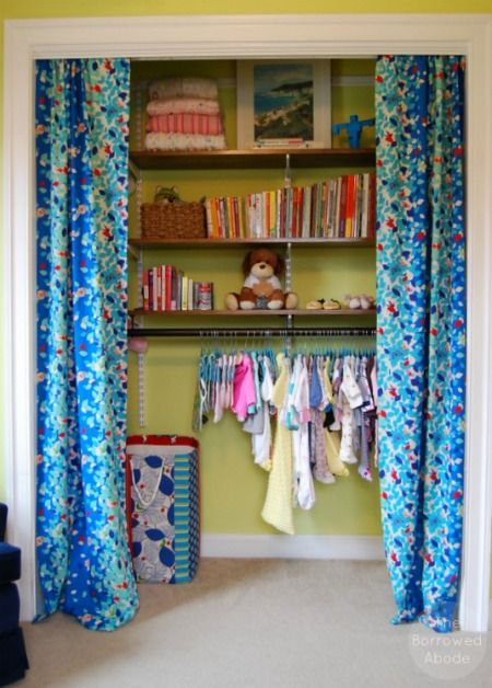 how to hack an elfa closet to create decorative wooden shelves