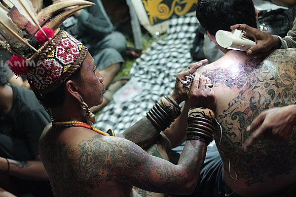 Art Tato: Tato tradisi di kalimantan