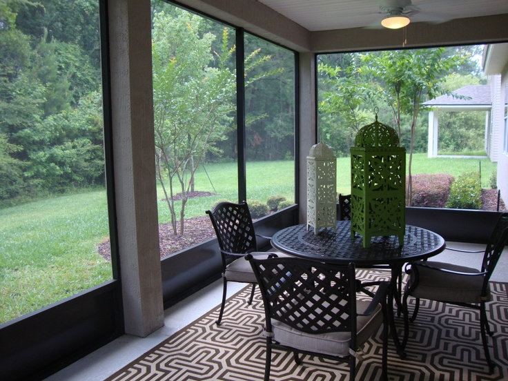 18 best Enclosed Patio images on Pinterest   Enclosed ... on Small Enclosed Patio Ideas id=78525
