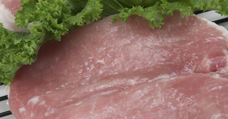 Cómo hacer chuletas de cerdo fritas: receta casera