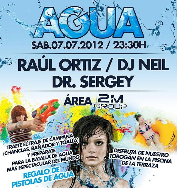 Agua Party - Fabrik (Madrid) - 07/07/2012