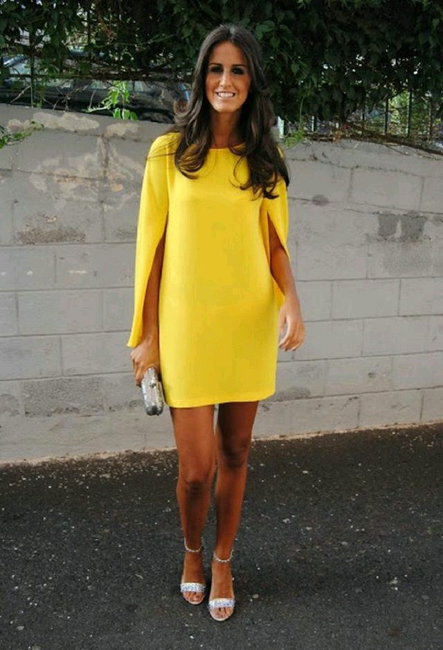 131 best images about vestidos amarillos on pinterest for Yellow wedding guest dress