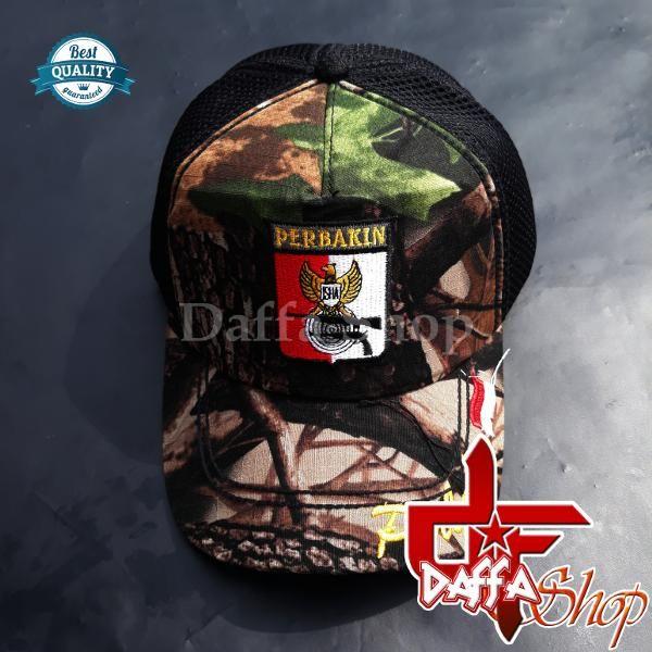 Beli Topi Perbakin Logo Dan Tulisan Motif Camo Dari Daffashop