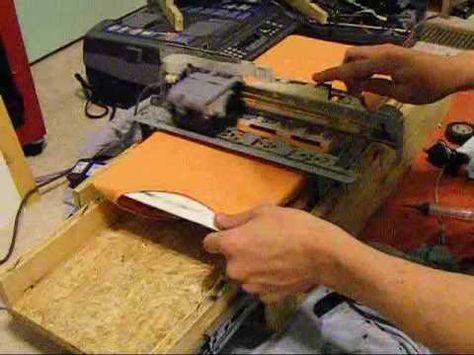 Build your own shirt printer