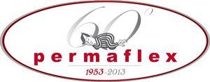 Logo che celebra il sessantesimo anniversario di Permaflex.
