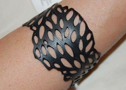 armband van fietsbanden