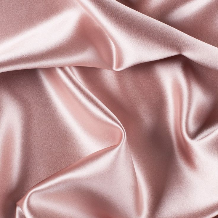 Blush Silk Crepe Back Satin Fabric by the Yard | Mood Fabrics