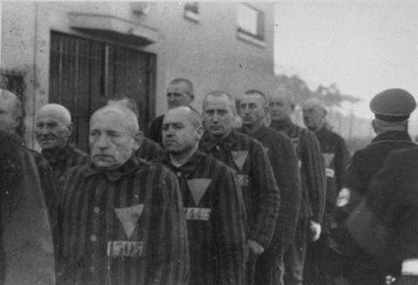 triangulo rosa campos de concentracion | Cultura Colectiva