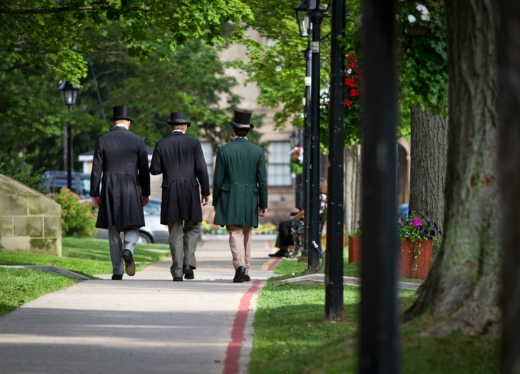 History comes alive when you stroll Charlottetown's historic district with the Confederation Players