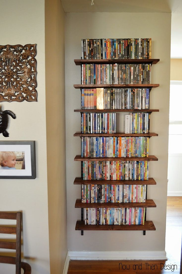 Dvd Shelving Ideas Best 25 Dvd Storage Shelves Ideas On Pinterest  Cd Dvd Storage