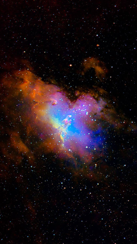 Eagle Nebula HubbleCredit: NASA/Hubble, color/effects thedemon-hauntedworld