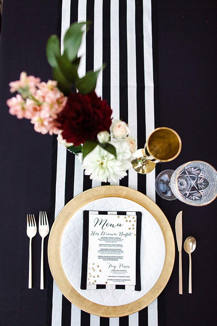 Photography: Megan Robinson Photography - megan-robinson.com/  Read More: http://www.stylemepretty.com/northwest-weddings/2014/03/04/winter-glam-black-white-wedding/