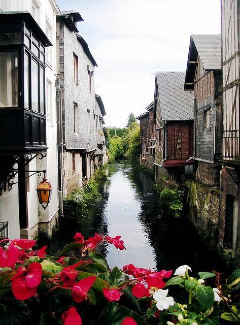 Pont-Audemer in Haute-Normandie.