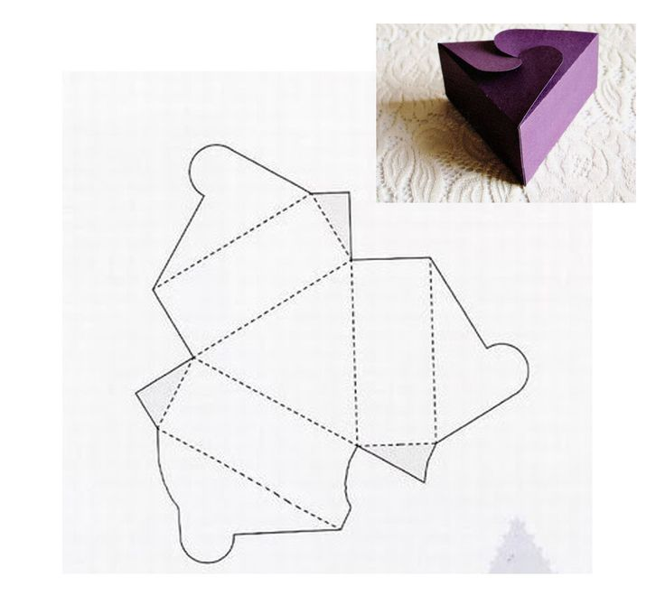 Открытки, коробочка конфета шаблоны