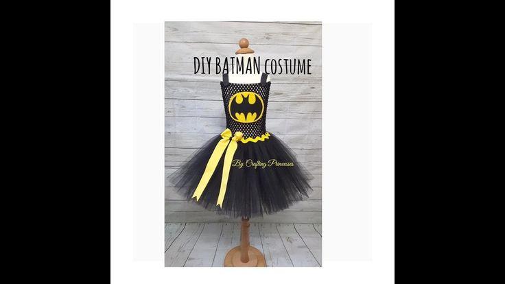 Super Hero Costume Series   DIY BATMAN Tutu dress   BATMAN Costume