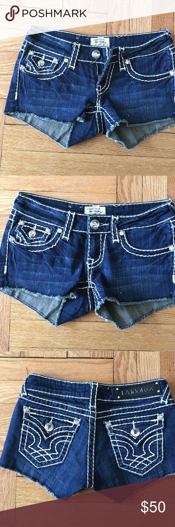 ⏳woman's shirt shorts brand new Never worn and expensive pair of shorts  BRAND NEW never worn la idol usa Shorts Jean Shorts