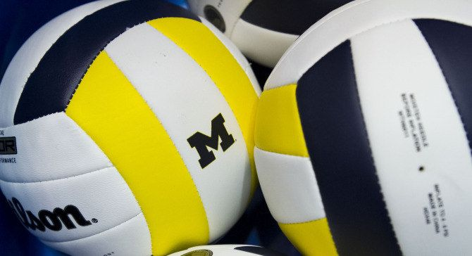 MGOBLUE! I want to be a professional volleyball player for Michigan University.