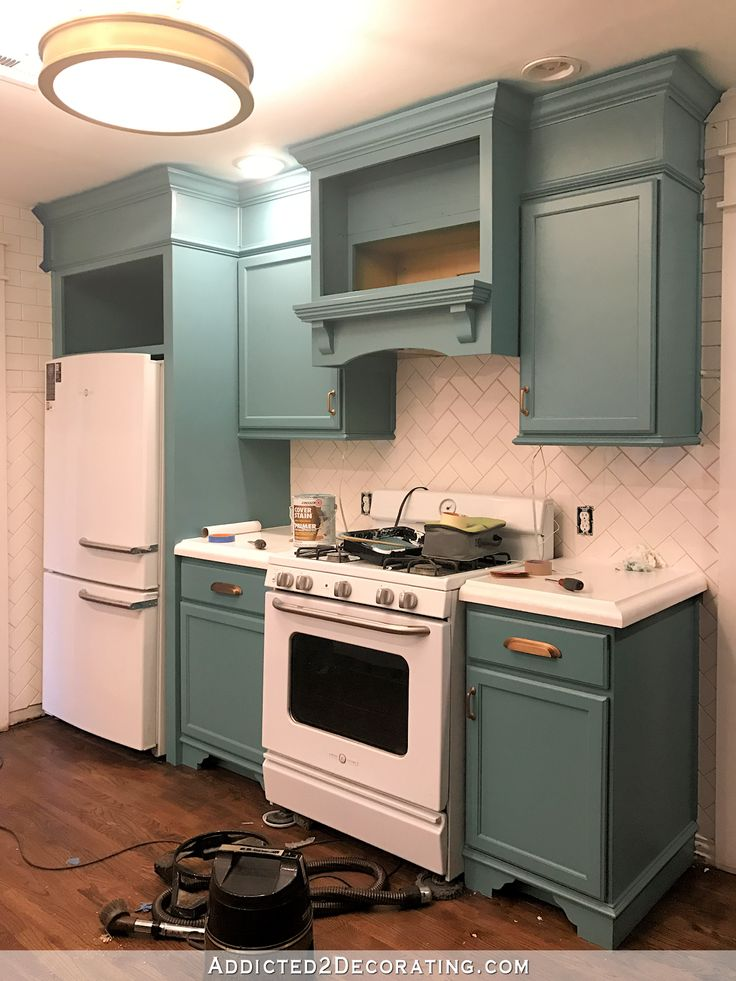 teal kitchen cabinets. My Freshly Painted Teal Kitchen Cabinets Best 25  kitchen cabinets ideas on Pinterest