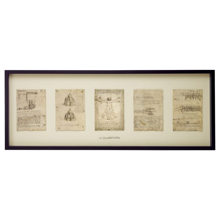 Love this sort of thing - Da Vinci sketches