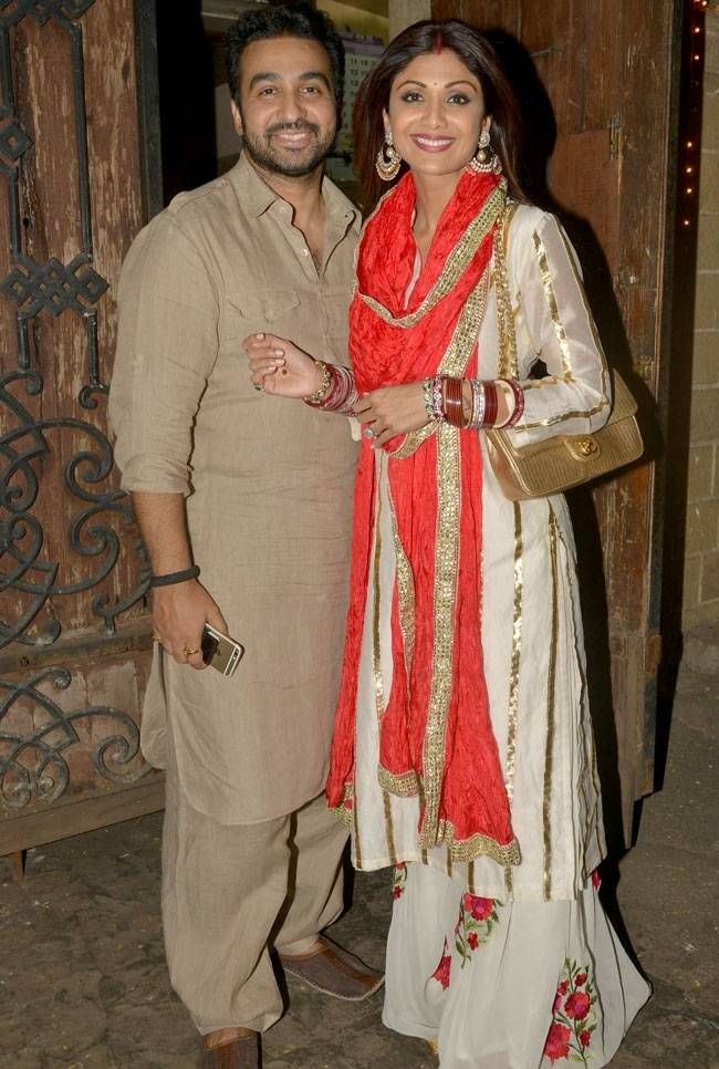 Photos: Sridevi to Shilpa, B-Town stars celebrated Karwa Chauth at Anil Kapoor's residence
