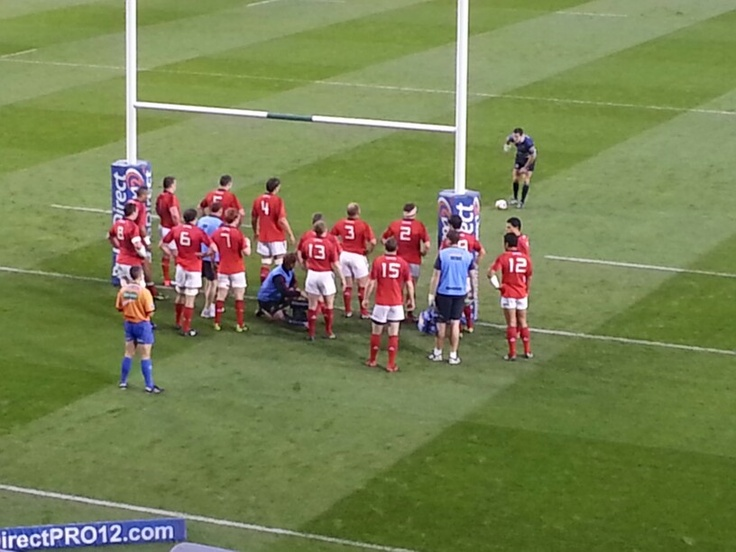 Munster V Leinster,  Sexton lines it up for a penalty