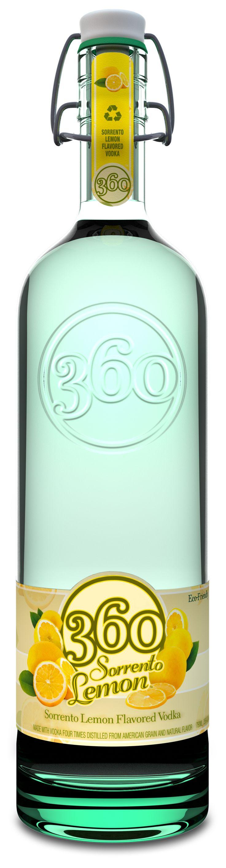 360 Vodka Sorrento Lemon Vodka